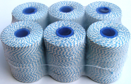 Butchers Rayon Twine Blue/White