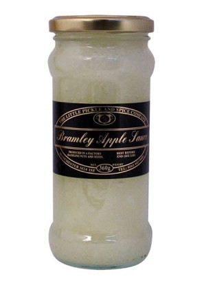 Bramley Apple Sauce £1.33 per 360gm Jar