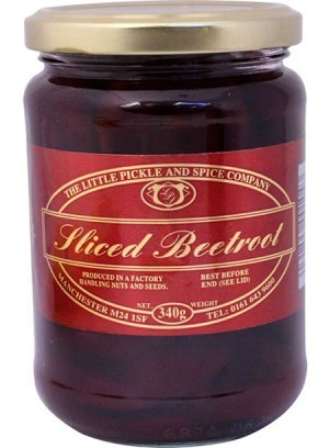Sliced Beetroot 67 pence per 340gm Jar