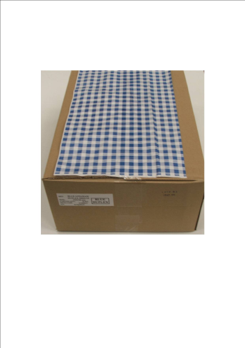 Duplex Blue Gingham Counter Sheets